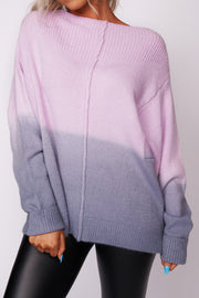 Walking On Air Knit Sweater (Pink) - NanaMacs