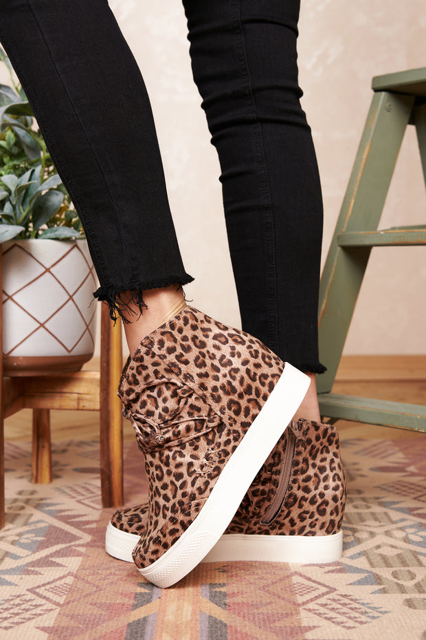 Better Get A Move On Leopard Sneakers (Camel/Leopard) - NanaMacs
