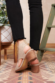 Annalisa Heeled Sandals (Beige)