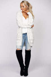 All Of It Leopard Hooded Cardigan (Light Grey) - NanaMacs