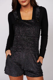 Starry Eyes Sparkle Overalls (Black/Multi)