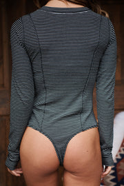 Always Be There Bodysuit (Black)