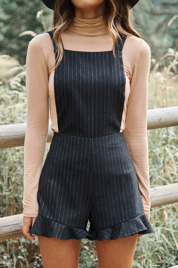 On My Terms Romper (Black)