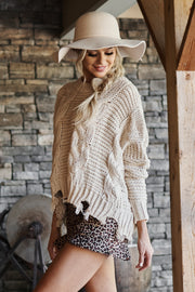 Loyal To Me Sweater (Taupe)
