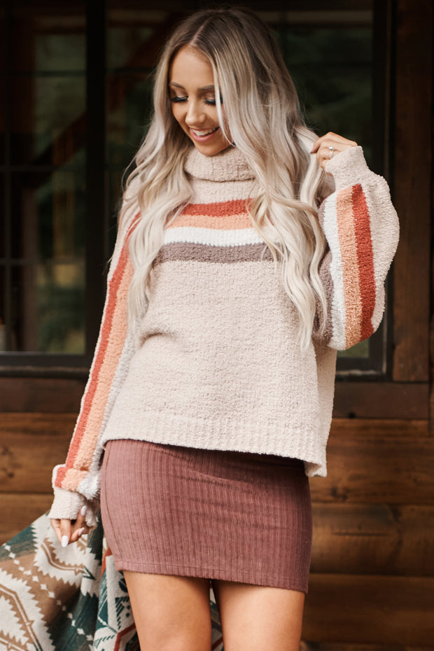 Mind Reader Sweater (Taupe)