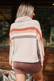Mind Reader Sweater (Taupe) - NanaMacs