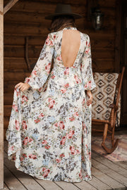 Surrounded By Floral Raxi (Ivory)