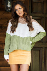 Winter Adventures Sweater (Camel Multi) - NanaMacs