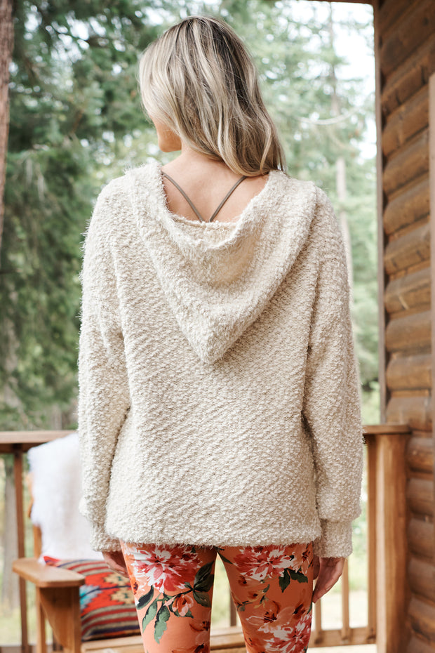 Meet Me Outside Sweater (Beige) - NanaMacs