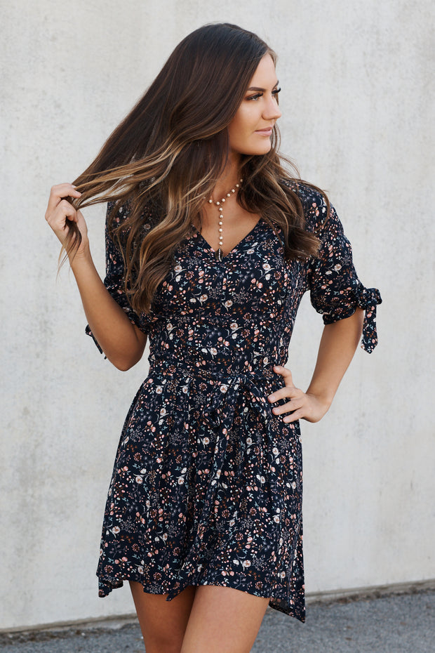Summer Sensation Dress (Navy)