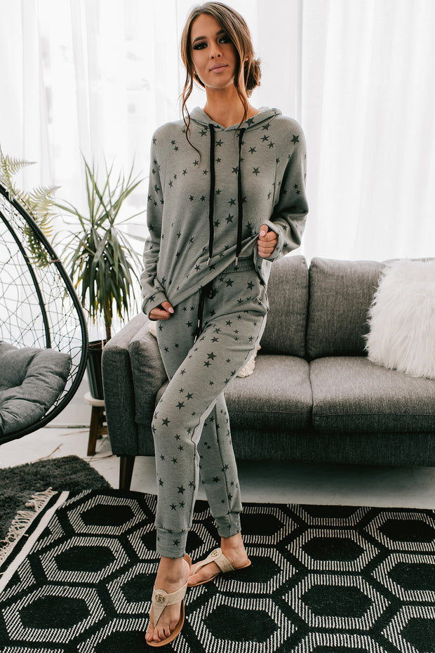 See Beyond The Stars Two Piece Set (Grey) - NanaMacs