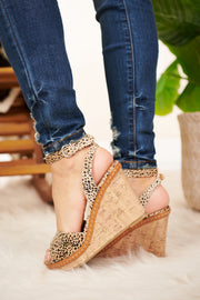 So Much Yes Spotted Wedges (Nude) - NanaMacs