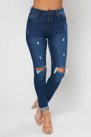 By All Means High Waisted Jeans (Medium Wash) - NanaMacs