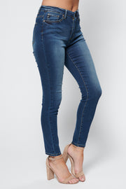 Whitley High Waisted KanCans (Dark Wash)