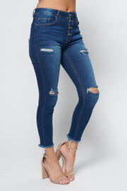 No Work All Play High Waisted Jeans (Medium) - NanaMacs