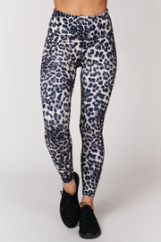 This Is It Leopard Print Leggings (Black) - NanaMacs