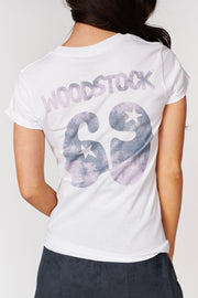 """Woodstock '69"" Graphic T-Shirt (White) - NanaMacs"