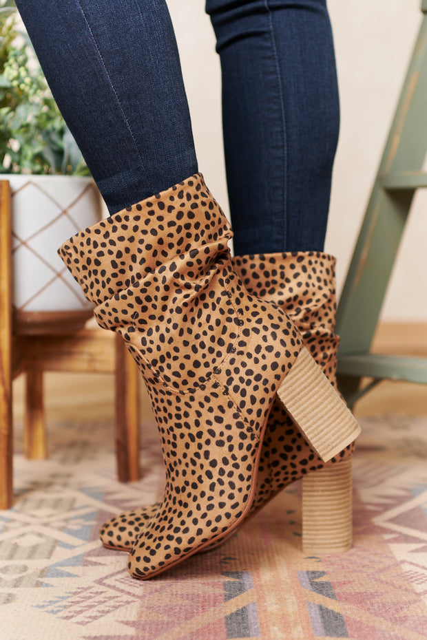 Strut Like You Mean It Booties (Cheetah)