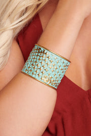 Keira Distressed Cuff (Gold)