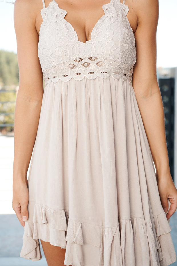Some Kind Of Love Dress (Champagne)