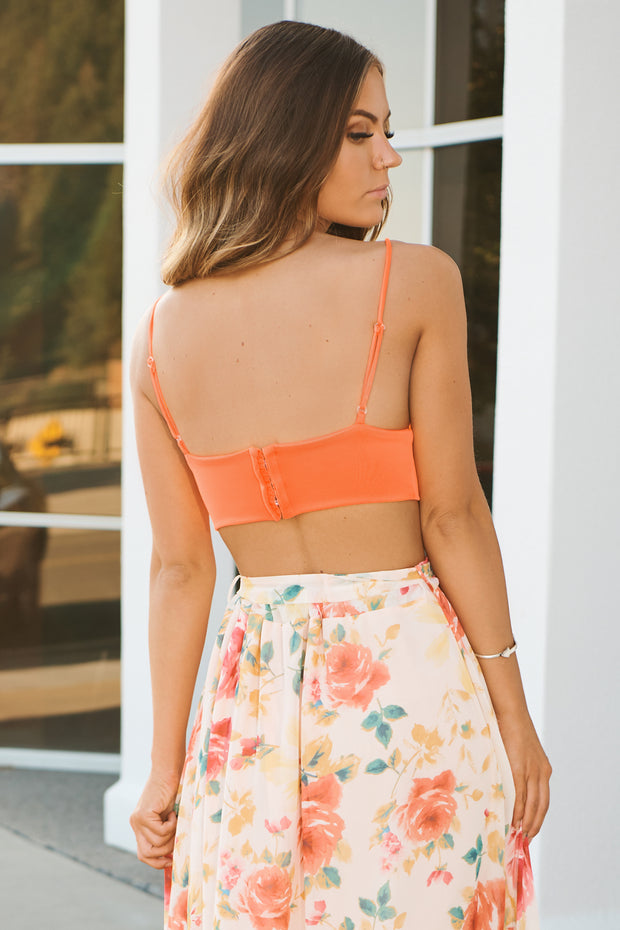 Eternal Summer Bralette (Neon Orange)