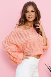 Not Stopping Sweater (Coral)