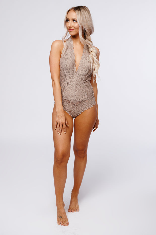 To The Weekend Bodysuit (Cocoa)
