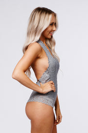 To The Weekend Bodysuit (Mint Grey)