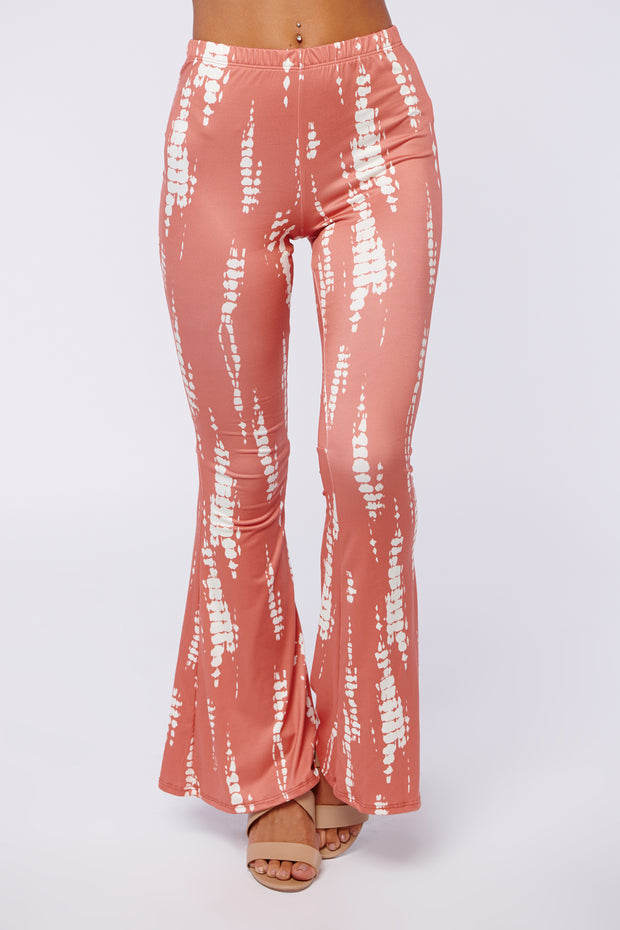 In The Clear Pants (Coral/Cream)