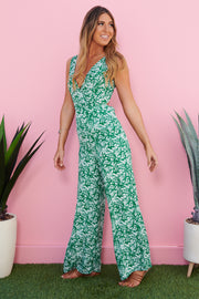 Nothing Compares Jumpsuit (Kelly Green)