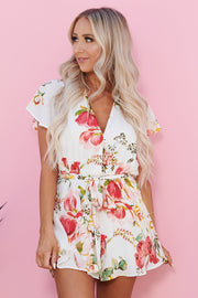 Sweet Sunday Romper (Ivory Multi)