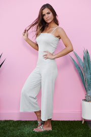 World Wonder Jumpsuit (Heather Grey)