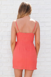 Sweet Craving Dress (Coral)