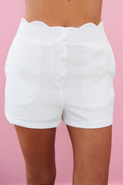 Cute And Sweet Shorts (Off White)