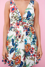 Flower Play Dress (Ivory)