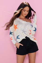 Star Crossed Sweater (Cream)