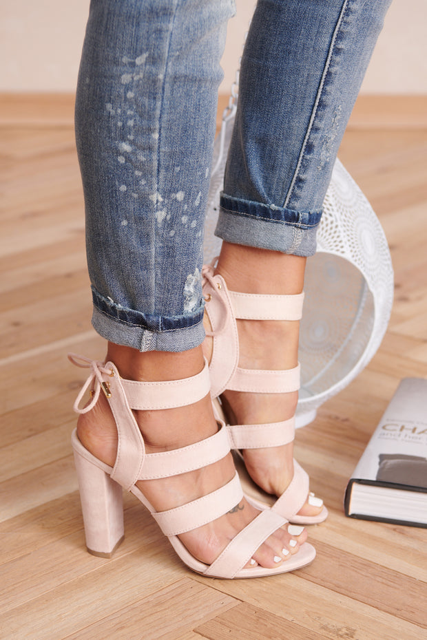 Above Expectations Heels (Light Blush)