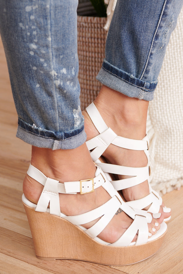 Want To Know Wedges (White)