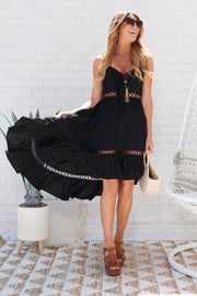 Opposites Attract Dress (Black)