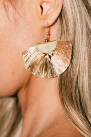 Shine Down On Me Dangle Earrings (Gold) - NanaMacs