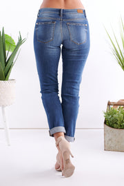 Changing Ways Boyfriend Jeans (Medium Wash)