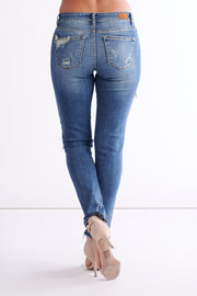 Johanna Distressed Jeans (Medium Wash)