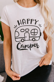 My Little Camper Graphic Tee (Off White) - NanaMacs