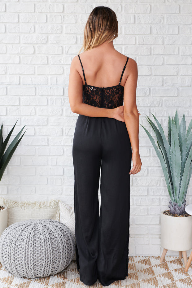 Party Time Jumpsuit (Black)