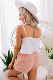 Miss Me More Floral Lace Tank Top (Ivory) - NanaMacs
