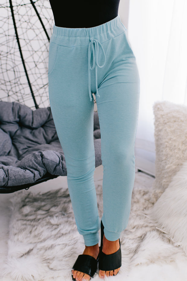 Nights With You Joggers (Blue) - NanaMacs