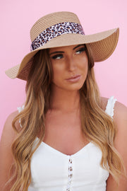 Cute And Feisty Straw Hat (Tan)