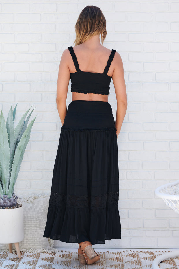 Play It Again Two Piece Set (Black)