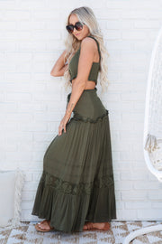 Play It Again Two Piece Set (Olive)