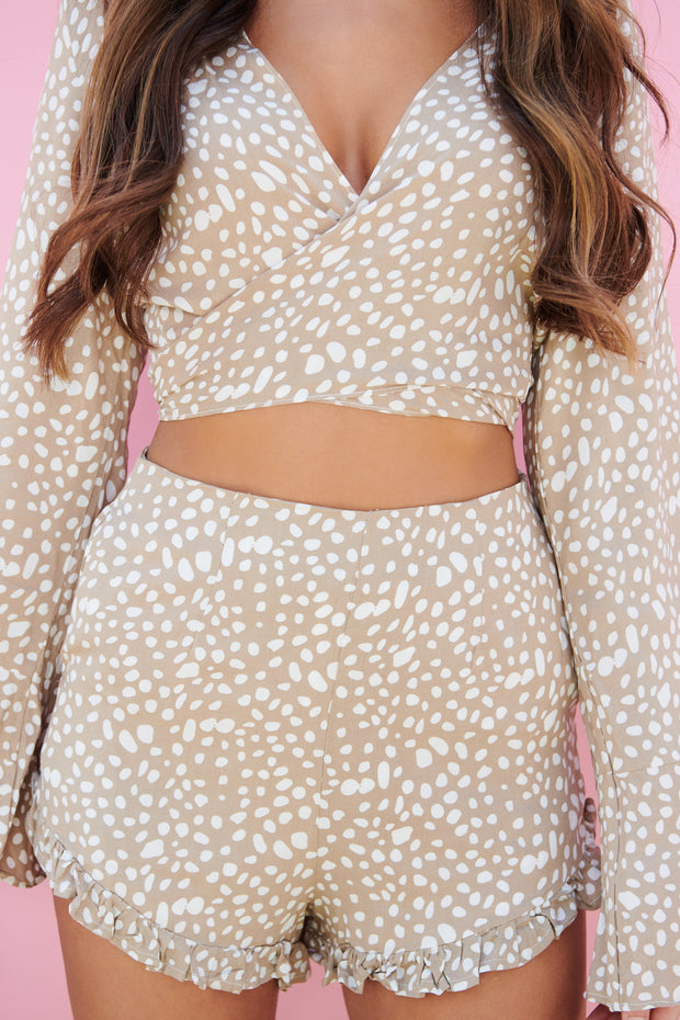 Bella Stone Two Piece Set (Taupe)